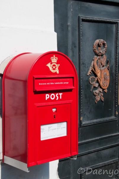 Mailbox Copenhagen, Denmark
