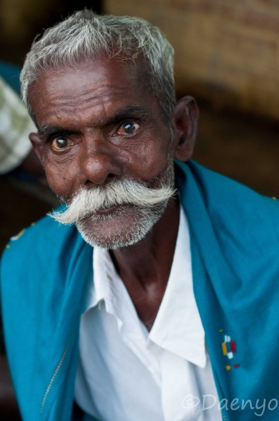 Old Man in Tamil Nadu