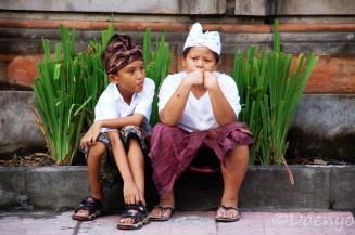 Kids in Ubud, Bali