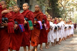 Monks, Mandalay