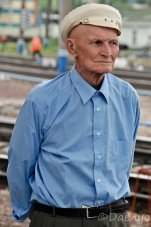 Russian Man, Trans Siberian Railway
