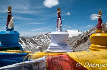 Stupas, Khardung La