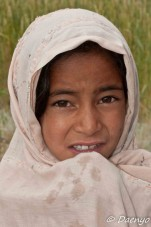 Girl in Shigar Valley, Skardu