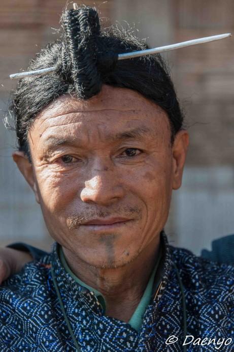 Apatani Man, Ziro (Arunachal Pradesh)