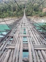 Bamboo Bridge, Arunachal Pradesh