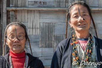 Apatani Women, Ziro (Arunachal Pradesh)