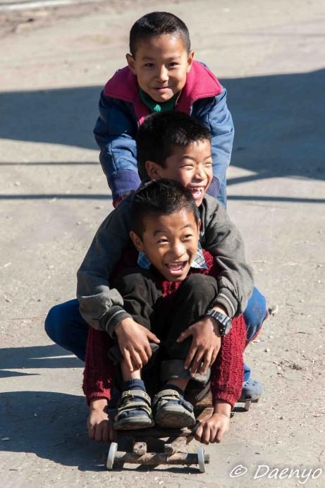 Kids, Ziro (Arunachal Pradesh)