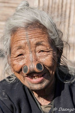 Apatani Woman, Ziro (Arunachal Pradesh)
