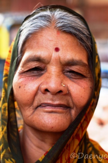 Rajasthani Woman, Bikaner
