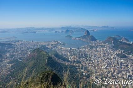 View from Cristo Redentor, Brasil