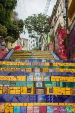 Escadaria Selarón in Rio, Brasil