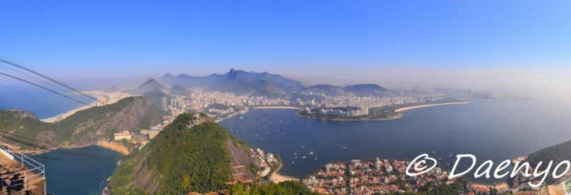 View from Sugarloaf, Brasil