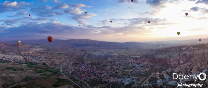 Cappadocia from above