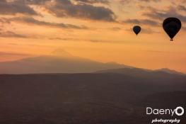 Cappadocia from above