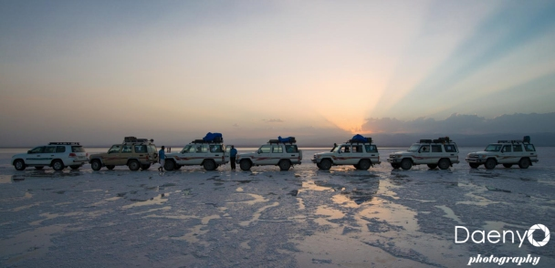 Danakil Depression, Salt Lake