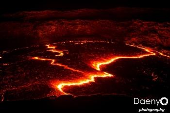 Danakil Depression, Erta Ale Volcano