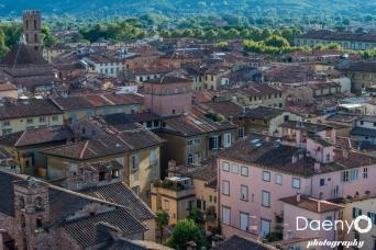 Cityscape, Lucca