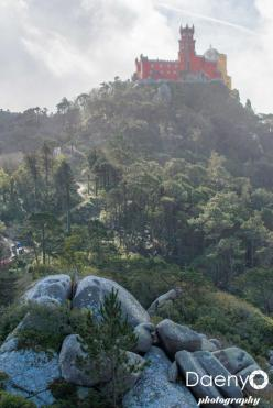 Sintra view from Castelo Dos Mouros