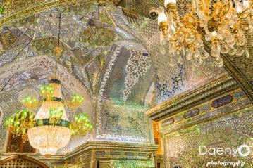 inside Shah-e-Cheragh Shrine, Shiraz