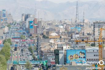 Cityscape, Teheran