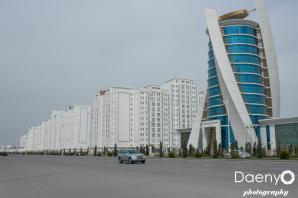 empty streets, Ashgabat