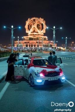 wedding Turkmen style, Ashgabat