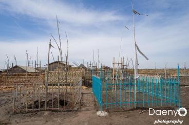 Turkmen cemetery