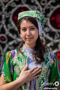 traditional Uzbek woman, Samarkand