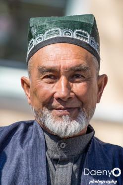 old man, Samarkand