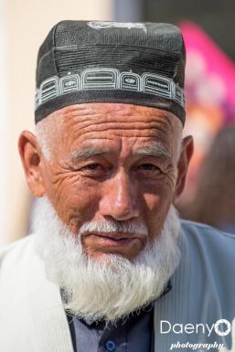 old man, Samarkand