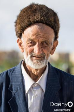 old man, Shakhrisabz