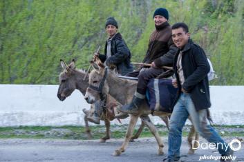 somewhere between Shakrisabz and Samarkand