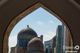 Shah-i-Zinda, Samarkand