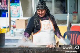 preparing schaschlik, Bukhara