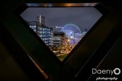 Minato Mirai at night