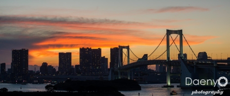 Odaiba sunset