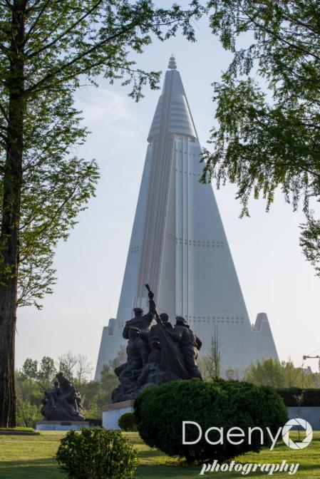 view from Victorious Fatherland Liberation War Museum, Pyongyang